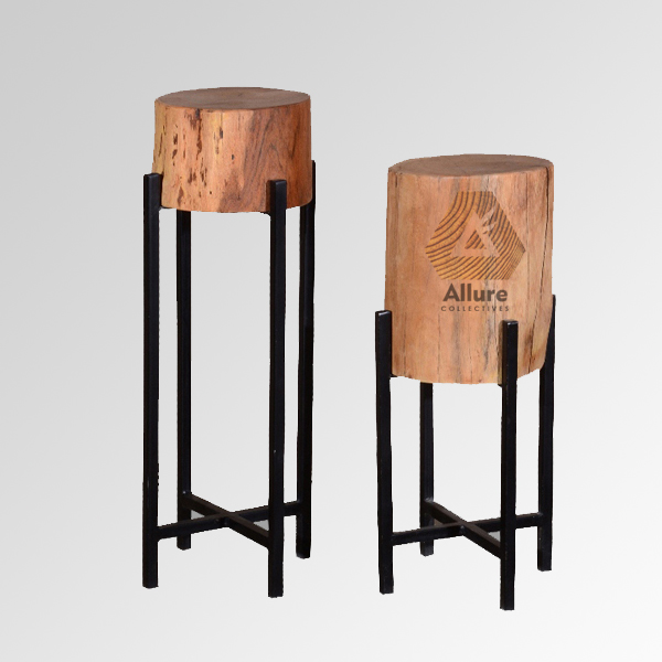 Wooden Flower Pot Stand (Height 77 & 69)